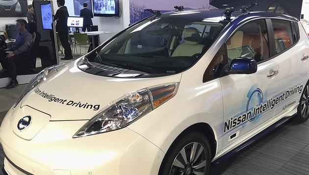 """Renault und Nissan: """"Noch heuer autonomes Auto"""" (Bild: AP)"""