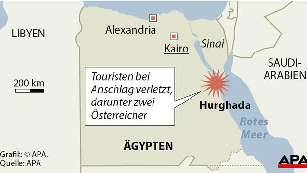 Ägypten: Ehepaar aus Österreich verletzt (Bild: APA)