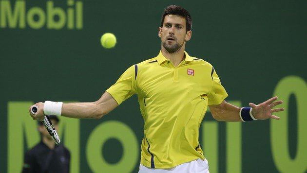 Djokovic fegt Nadal im Finale von Doha vom Platz (Bild: APA/AFP/KARIM JAAFAR)