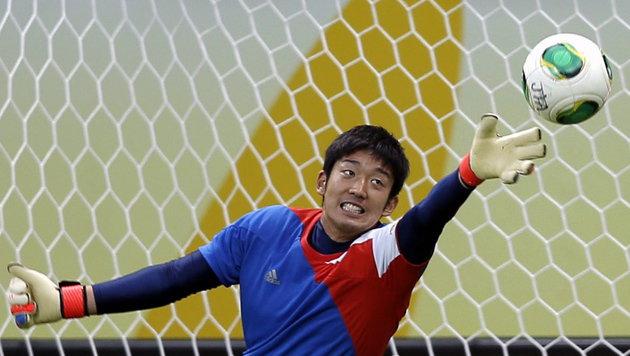 Japanischer Teamgoalie wechselt zum SV Horn (Bild: ROBERT GHEMENT/EPA/picturedesk.com)
