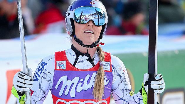 Vonn stellt Sieg-Rekord von Moser-Pröll ein (Bild: GEPA)