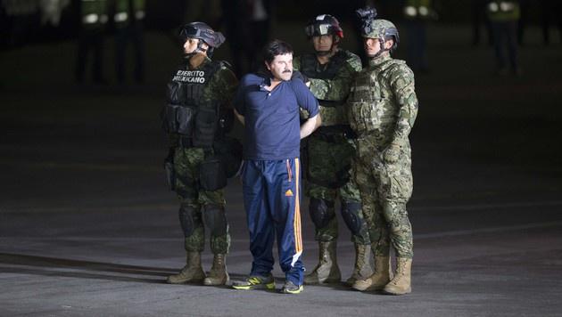"""Drogenboss """"El Chapo"""" wird an USA ausgeliefert (Bild: AP)"""