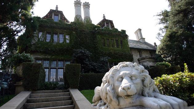 """Hugh Hefners """"Playboy Mansion"""" steht zum Verkauf (Bild: GABRIEL BOUYS/AFP/picturedesk.com)"""