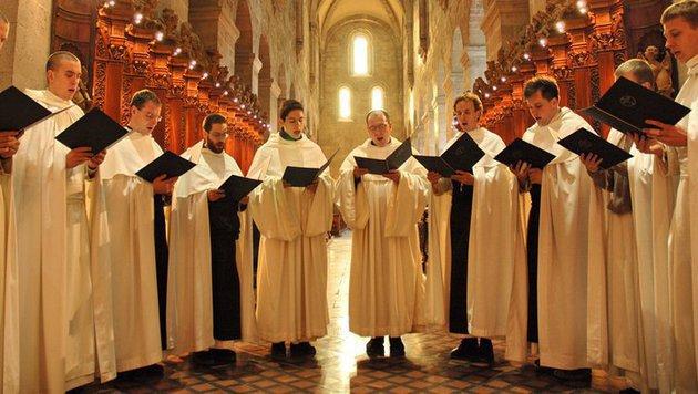 Während sich die Mönche in der Kirche zum Gebet versammelten, schlugen Einbrecher zu. (Bild: Florain Hitz)