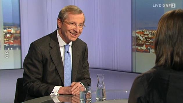 Haslauer fordert niedrigere Mindestsicherung (Bild: ORF)