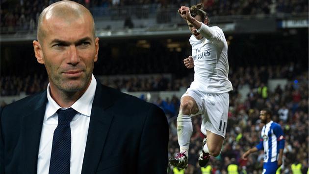 Zidane-Debüt: Real Madrid zaubert bei 5:0-Gala (Bild: AP 2)