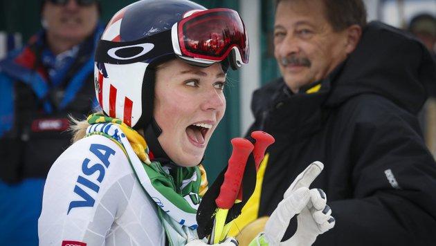 "Mikaela Shiffrin: ""Ich habe große Kugel im Kopf"" (Bild: AP)"