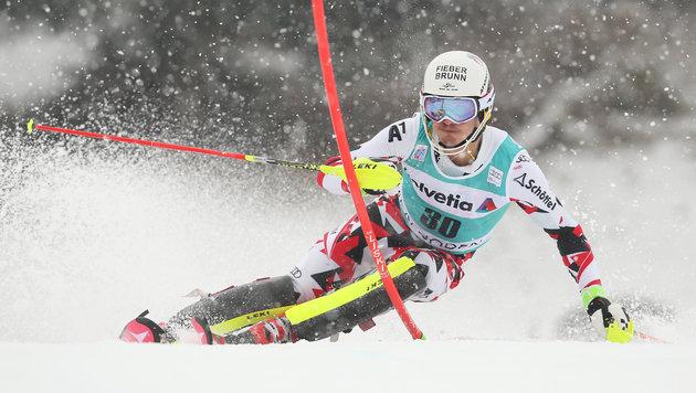 Manuel Feller jagte zu Rang sechs! (Bild: GEPA pictures)