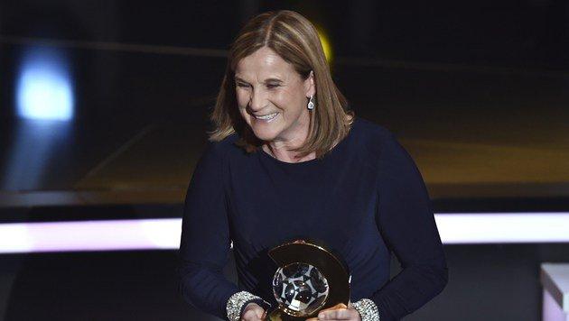 Jill Ellis, die Trainerin des Jahres (Bild: AFP)