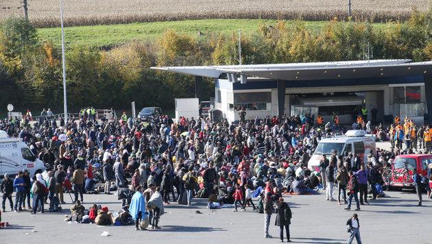 """""""Ja, es müssen weniger Flüchtlinge werden!"""" (Bild: Krone)"""
