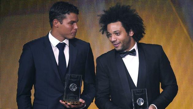 Thiago Silva, Marcelo (Bild: AFP or licensors)