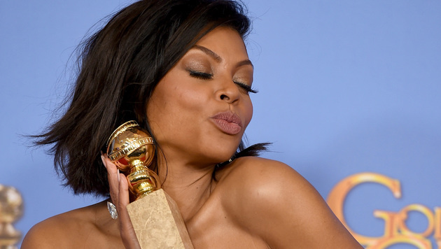 """Taraji P. Henson gewinnt einen Golden Globe für ihre Rolle in """"Empire"""". (Bild: Jordan Strauss/Invision/AP)"""