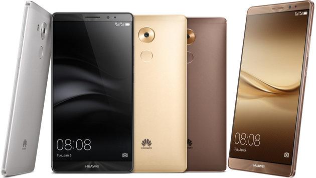 Huawei Mate 8 kommt im Februar nach Österreich (Bild: Huawei)
