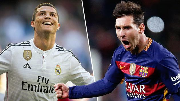 Streit über Messi und Ronaldo endet tödlich (Bild: AP)