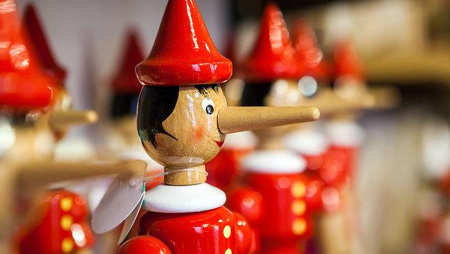 Dass Kindern keine lange Nase wächst, ist manchmal ein Wunder - bei den vielen Flunkereien. (Bild: thinkstockphotos.de)