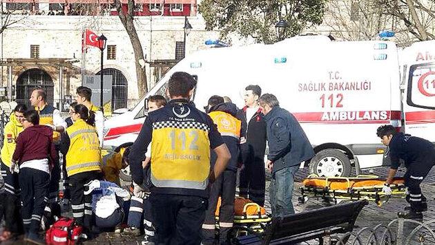 Attentäter von Istanbul gehörte zu Terrormiliz IS (Bild: APA/AFP/STR)