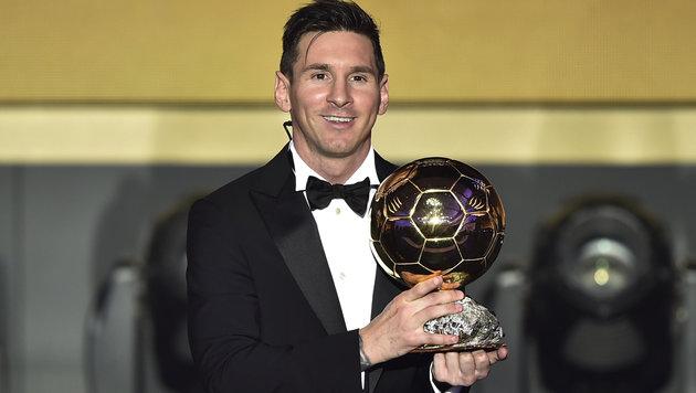 Weltfußballer Lionel Messi (Bild: APA/AFP/Fabrice Coffrini)