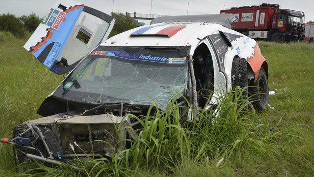 Unheimlicher Todesfall bei der Rallye Dakar (Bild: APA/AFP/TELAM/Irma MONTIEL)