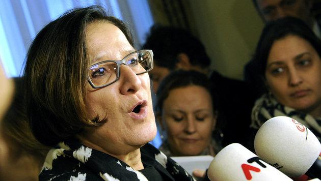 """""""Österreich muss weniger attraktiv werden"""": Innenministerin Johanna Mikl-Leitner (Bild: APA/HERBERT PFARRHOFER)"""