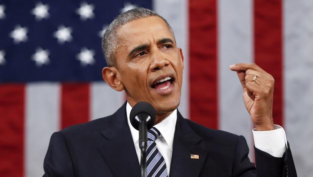 US-Präsident Obama erwägt ein schärferes militärisches Eingreifen in Syrien. (Bild: AP)