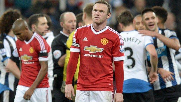 ManU patzt gegen Nachzügler Newcastle - nur 3:3 (Bild: AFP)