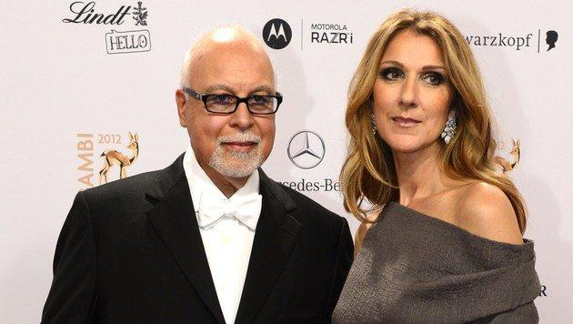Rene Angelil (links) wurde 73 Jahre alt. (Bild: AFP)