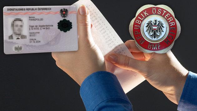 Falsche Finanzbeamte zocken Konsumenten ab (Bild: thinkstockphotos.de, Finanzpolizei)