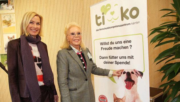 Die Tiko-Geschäftsführerin Tara Geltner sieht mit Heidi Goëss-Horten optimistisch in die Zukunft. (Bild: Uta Rojsek-Wiedergut)