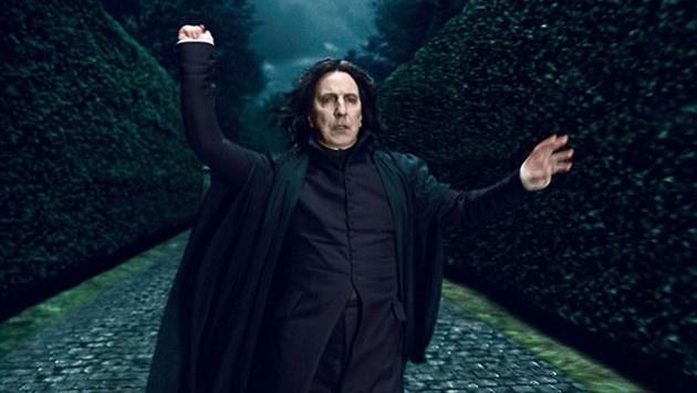 "Alan Rickman als Professor Severus Snape in ""Harry Potter"" (Bild: Viennareport)"