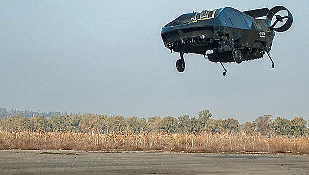 Lastendrohne aus Israel trägt eine halbe Tonne (Bild: Urban Aeronautics)