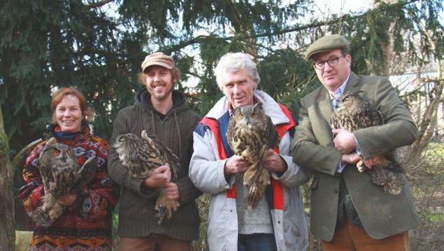 Vier Uhus aus ehemaligem Wildpark in EGS gezogen (Bild: Vier Pfoten/Sigrid Frey)