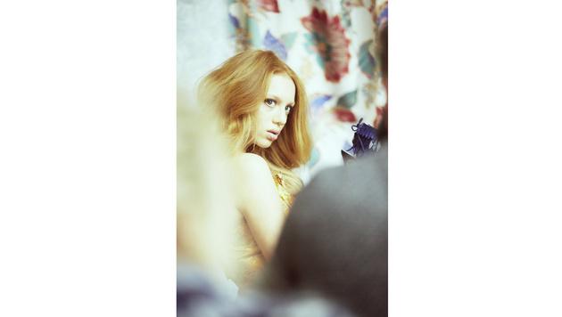 Anna Ermakova modelt für Buffalo Boots. (Bild: Buffalo Boots)