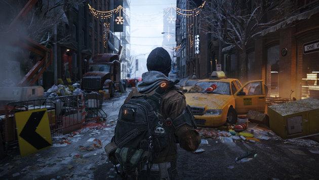 """""""""""Tom Clancy's The Division"""" räumt in New York auf (Bild: Ubisoft)"""""""