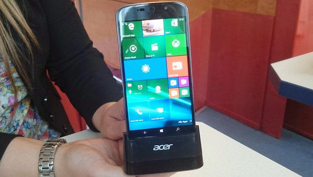 Handy und PC in einem: Acer Jade Primo ausprobiert (Bild: Dominik Erlinger)