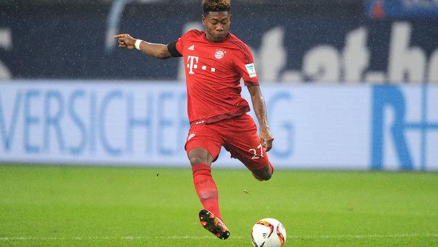 Bayern-Pleite bei Alaba-Comeback in Karlsruhe (Bild: GEPA)