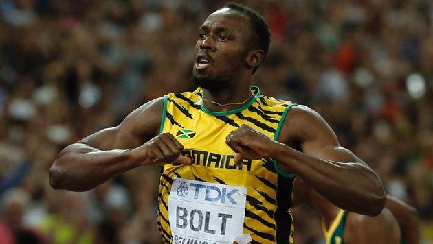 """Bolt: Doping-Verschleierungen """"schockierend!"""" (Bild: APA/AFP/ADRIAN DENNIS)"""