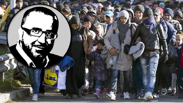 Nein, die EU wird uns sicher nicht helfen (Bild: APA/ERWIN SCHERIAU, Krone)