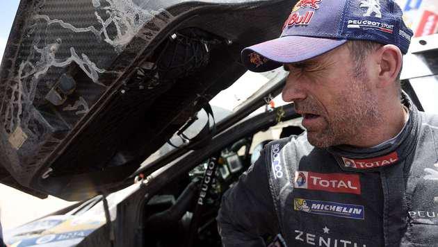 Peterhansel gewinnt zum 12. Mal Rallye Dakar (Bild: APA/AFP/FRANCK FIFE)