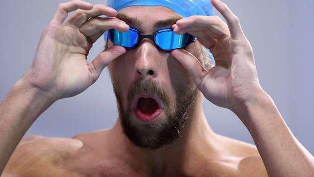 Phelps startet mit 100-Meter-Sieg ins Olympiajahr (Bild: APA/AFP/GETTY IMAGES/RONALD MARTINEZ)