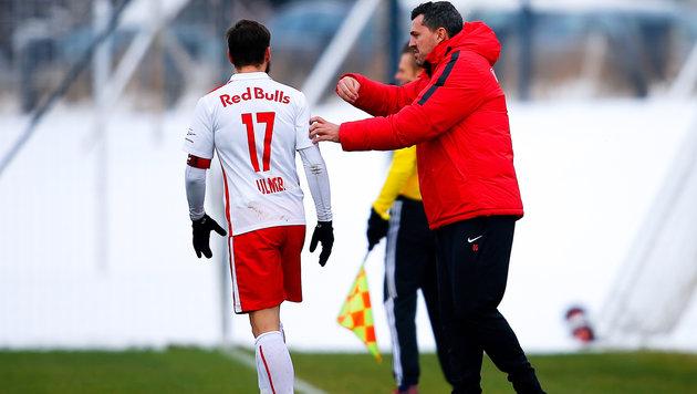 Salzburg gewinnt ersten Test unter Trainer Garcia (Bild: GEPA)