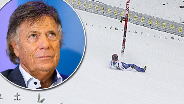 """Schröcksnadel: """"Lukas Müller erhält jede Hilfe!"""" (Bild: GEPA, Sepp Pail)"""
