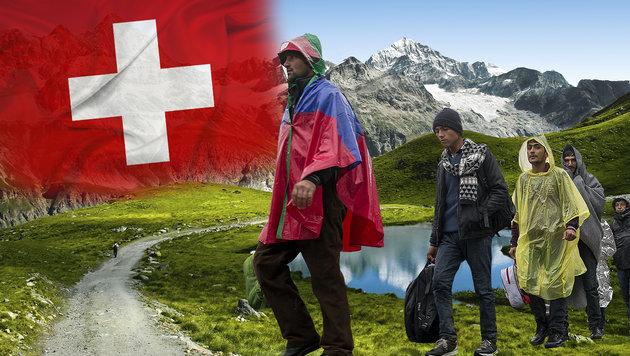 Schweiz lässt Asylwerber von der EU abschieben (Bild: thinkstockphotos.de, APA/ERWIN SCHERIAU (Symbolbild))