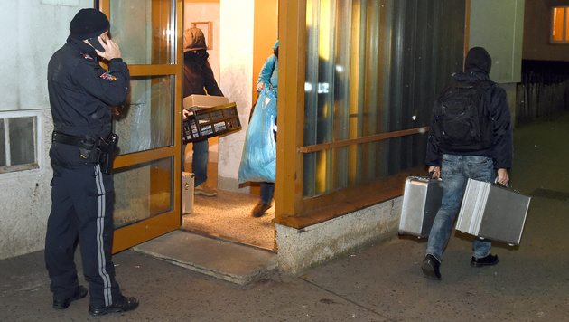 Wohlhabende Witwe ermordet: Verdächtiger in Haft (Bild: APA/HERBERT P. OCZERET)