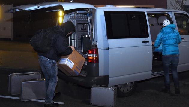 Mordalarm in Wien: Frau (72) lag tot in Wohnung (Bild: APA/HERBERT P. OCZERET)