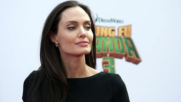 Angelina Jolie schrecklich abgemagert (Bild: APA/AFP/VALERIE MACON)