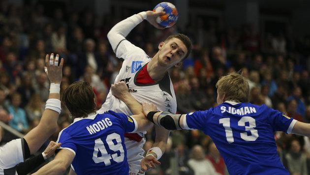 Handball-Herren zerlegen Finnland - Gruppensieg! (Bild: GEPA pictures)
