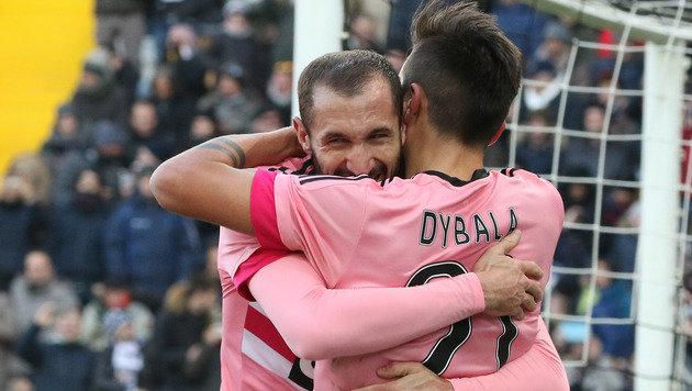 Juventus nach 4:0 bei Udinese wieder auf Rang zwei (Bild: AP)