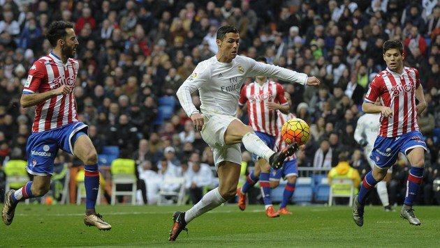 Real Madrid unter Zidane weiter galaktisch - 5:1! (Bild: www.pedroarmestre.com)