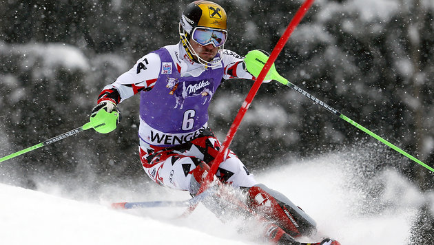 "Marcel Hirscher nach ""Arsch-Wochenende"" am Boden (Bild: ASSOCIATED PRESS)"