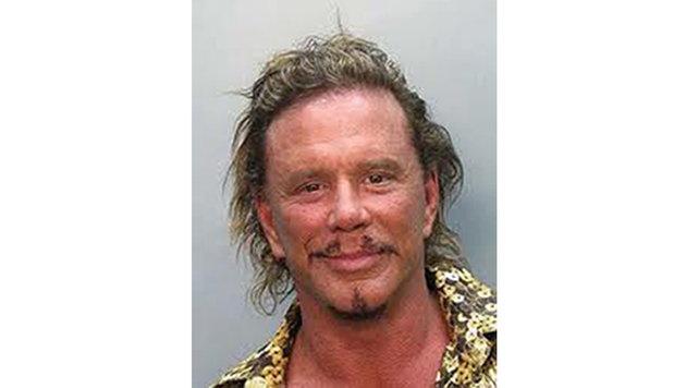 Mickey Rourke 2007: Verhaftung wegen Trunkenheit am Steuer (Bild: Viennareport)